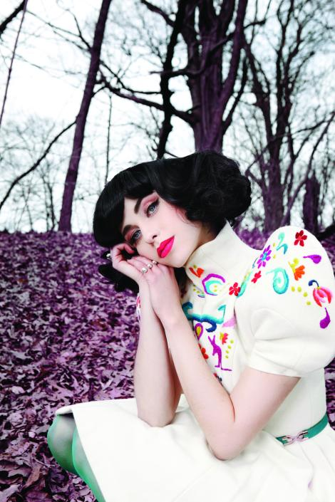 Kimbra: Image by Tom Kerr
